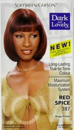 Dark & Lovely hair dye color Red Spice