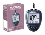 Maxima blood glucose monitor