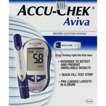 Accu-chek Aviva test monitors