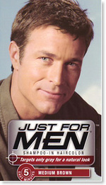 Just for Men Hair dye in Shampoo Color